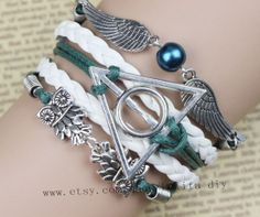 Marine jewelry snitch bracelet harry potter and the by Lolitadiy, $5.99