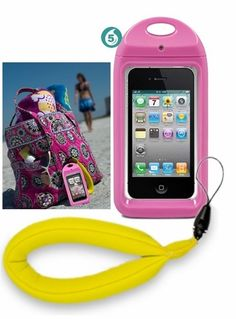 Aqua Box is a waterproof smart phone case!!! Getting this for our cruise and for the lake this summer! :D