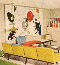 1960 MID CENTURY MODERN Decorating book Better Homes by