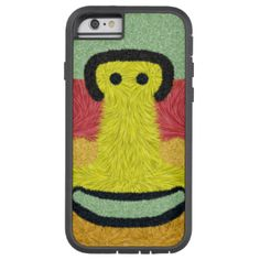 A colorful abstract pattern for an unique and stylish look, with a face in the middle smiling at you. You can also customized it to get a more personal look. #abstract #trendy #colorful #modern #decorative #stylish #abstract-pattern #furry #furry-brush #smiling-face