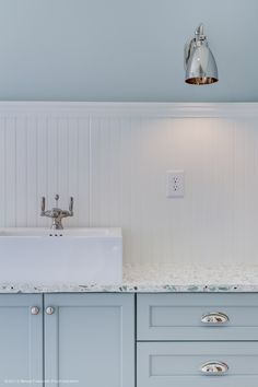 Gorgeous countertops and paint   Interior design by Shay Simpson at Riverside Designers in Charleston, SC. Architectural photography by Brian Fancher of Brian Fancher Photography in Charleston, SC.