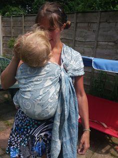 #Artipoppe #bahama #seahorses #babywearing #slings #woven #wrap #ringsling #rs