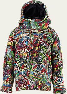 Marvel® x Burton Boys' Minishred Amped Snowboard Jacket