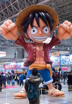 Monkey D. Luffy inflavel.
