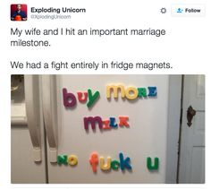 When you find creative ways to argue: | 18 Pictures That Are Literally You As A Wife