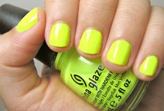 China Glaze Celtic Sun Review