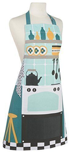 Cotton Cook's Corner Apron with Adjustable neck Strap: New Birthday Gift Ideas for a Baker