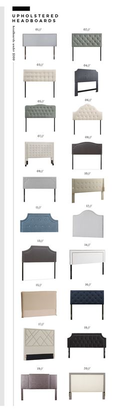 Upholstered Headboards Under $300 - Room for Tuesday