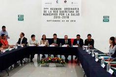 -El 19 de octubre, será la primera Reunión Nacional de la Red Mexicana de Municipios por la Salud en Mérida...