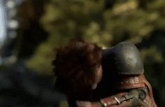 (GIF) Say hello to the new Hiccup from How To Train Your Dragon 2!! (hot dang)