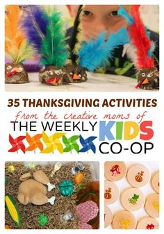35+ Thanksgiving Activities for Kids at B-Inspired Mama