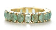 emerald eternity ring