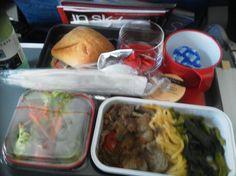 Plane food qantas