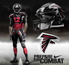 Get ready for a new NFL look now that Nike's got the jersey contract. Possible New Atlanta Falcons Uniforms from Nike!
