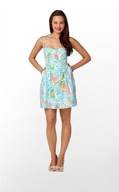 Georgie Dress in You Gotta Regatta $188 (w/o 5/12/12) #lillypulitzer #fashion #style by tamera