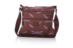 Dragonfly Cross-body Bag in Mauve from Shruti £29 now in-stock and selling fast at http://www.melburygallery.co.uk/shop/bags-and-purses/ #shruti #dragonfly #greatgiftidea