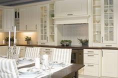 Fredrikstad, Kitchen Island, Kitchen Cabinets, Kitchens, Google, Home Decor, Restaining Kitchen Cabinets, Homemade Home Decor, Kitchen Base Cabinets