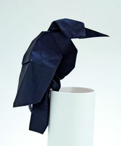 Origami Raven