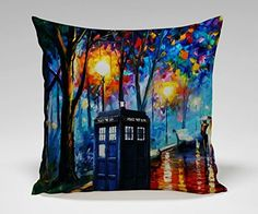 #DoctorWho Artsy Pillow Cover!