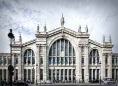 The Gare du nord is 150 years old!