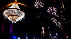 The World's Largest Outdoor Chandelier - located in Playhouse Square, Cleveland, Ohio! The GE Chandelier.