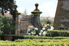 Vignanello, Palazzo Ruspoli, a garden from '500