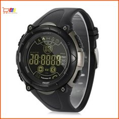 AOWO 24 Months Standby Time Waterproof Sports Management Smart Watch for iOS / Android Phones - Deep Gray - Wearable Devices, Smart Watches # # Android 4, Android Phones, Smartwatch Ios, Ios Phone, Fitness Wristband, Remote Camera, Wearable Device, Fitness Watch, Watch Sale