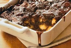 Chocolate Bread Pudding Recipe | Leite's Culinaria