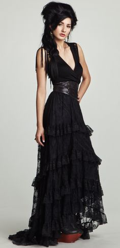 Esto sí es un vestido de princesa.