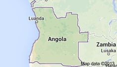 Angola, officially the Republic of Angola (Portuguese: República de Angola: ʁɛpublika de an'ɡɔla; Kikongo, Kimbundu, Umbundu: Repubilika ya Ngola), is a country in Southern Africa bordered by Namibia on the south, the Democratic Republic of the Congo on the north, and Zambia on the east; its west coast is on the Atlantic Ocean.