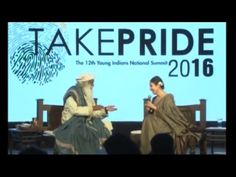 Take PRIDE 2016: The 12th Yi National Summit - Session with Sadhguru Jag...