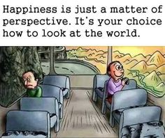 Happiness Is A Perspective