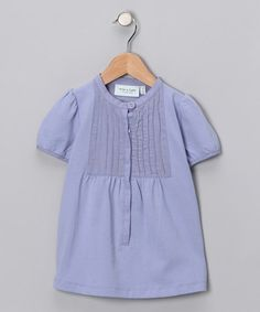Take a look at this Thistle Lilac Vinca Top - Toddler & Girls by MINI A TURE on #zulily today!