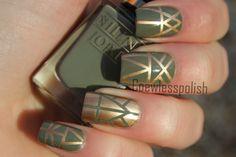 Aztec nails, gotta try