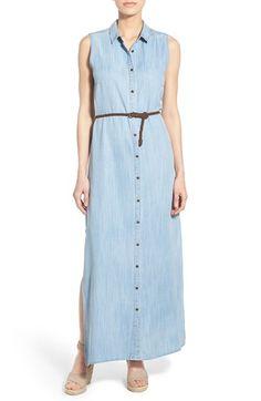 KUT from the Kloth 'Victoria' Denim Maxi Dress