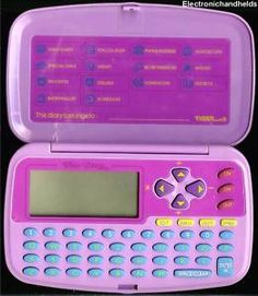 I miss the 90's! I used to wear my electronic diary out!