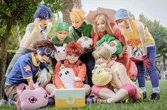 Digimon cosplay