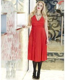 Pleat Dress, Tall