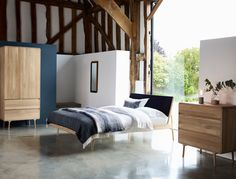 Fawn bedroom furniture at Heal's.  #HealsAW15