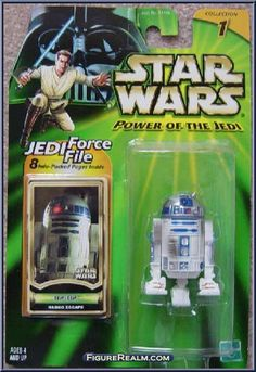 R2-D2 (Naboo Escape) from Star Wars - Power of the Jedi - Phantom Menace manufactured by Kenner [Front]