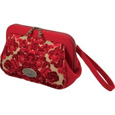 Petunia Pickle Bottom Red Velvet Cake Cameo Clutch from PoshTots