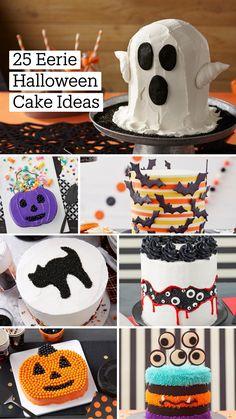 Bolo Halloween, Halloween Cupcakes, Diy Halloween Decorations, Halloween Treats, Halloween Fun, Cake Decorations, Cake Decorating Designs, Wilton Cake Decorating, Cake Decorating Videos
