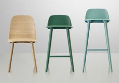 Buy the Bar chair Nerd from Muuto, on Made in Design - 48 to 72 hours delivery.