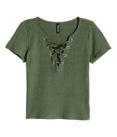Ladies   Tops   Short Sleeve   H&M US