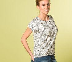 15 patrons gratuits pour coudre un tee-shirt femme | LOUISE