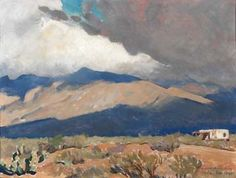 Maynard Dixon Fast Moving Shadows