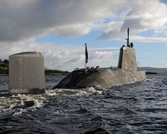 SUB ~ HMS Ambush Arriving at HMNB Clyde | by Defence Images ~ BFD