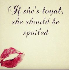 Spoil me then ;) Husband