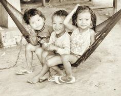Friends at  village near Kg. Cham, Cambodia