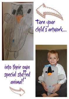 Bringing Your Child's Artwork to Life with Budsies.  An unique & fun gift idea for kids.